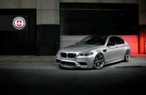 BMW M5 on HRE Wheels 2014 года